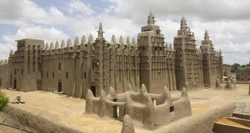 La città di Timbuktu, Mali