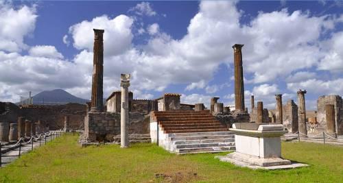 Le rovine di Pompei - Napoli, Italia