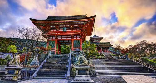 Tempio di Kiyomizudera – Kyoto, Giappone