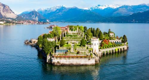 Isola Bella sul Lago Maggiore, Italia