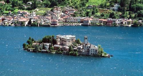 Isola di S. Giulio, lago d'Orta