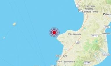 Una scossa di terremoto di magnitudo 4.4 ha svegliato Tropea alle 4.50
