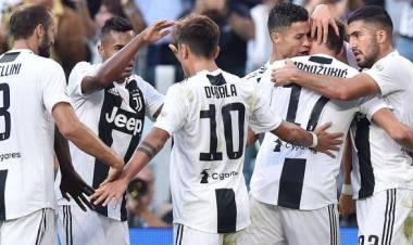 Juventus-Napoli 3-1: gol di Mertens, Mandzukic (2) e Bonucci