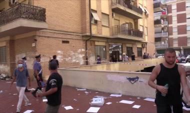 Ostia, barricato in casa minaccia di far esplodere bombola di gas: panico e urla nel condominio