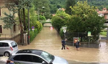 Maltempo: allerta arancione in Lombardia per temporali