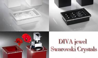 DIVA Jewel, Swarovski crystals