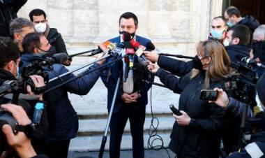 Euro e ponte sullo Stretto, le nuove provocazioni di Salvini al premier Draghi
