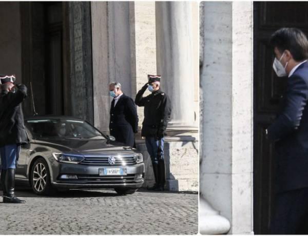 Conte si è dimesso, domani le consultazioni da Mattarella.