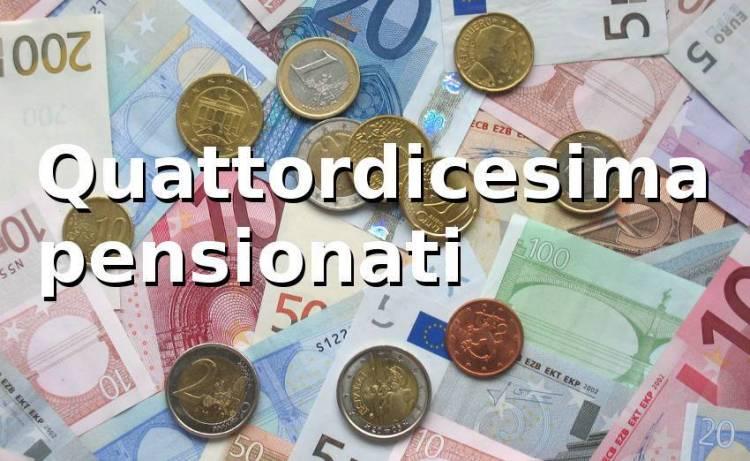 Pensioni, Quattordicesima: requisiti, limiti, importi 2018